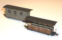 Personenwagen Feldbahn Spur Nf
