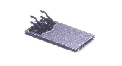 Kurzkupplungskulisse mit NEM-Schacht Spur N