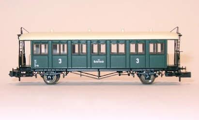 österreichischer Südbahnwagen Epoche III Spur N