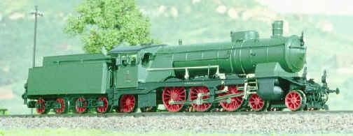 Schnellzuglokomotive schöne Württembergerin C Länderbahnausführung Epoche I Spur N