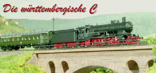 Schnellzuglokomotive schöne Württembergerin C Spur N